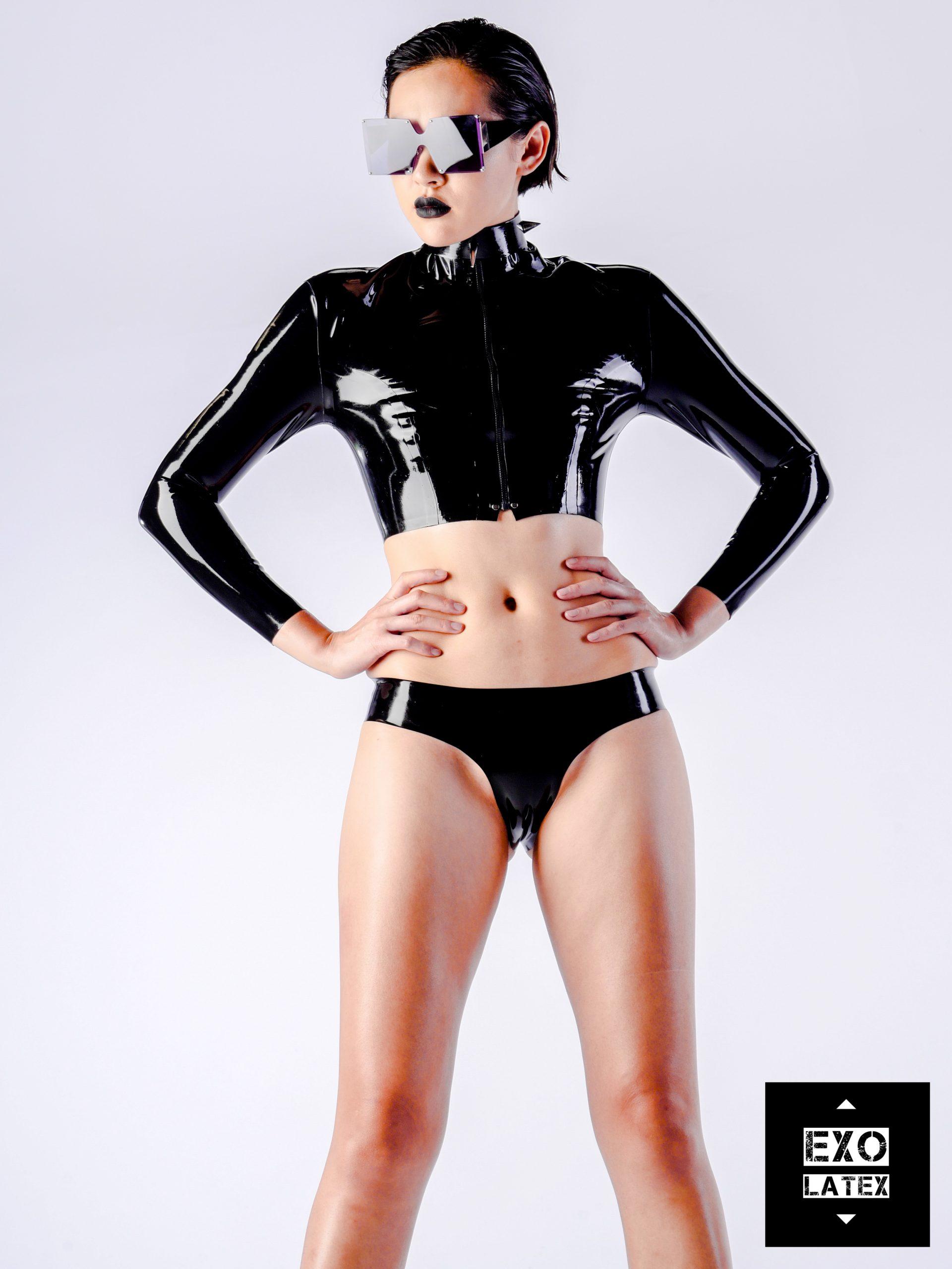 Exo Latex fashion clothing design