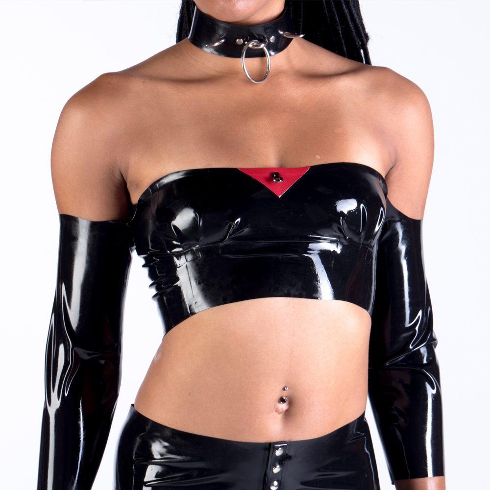 Exo Latex handmade latex rubber fashion clothing tops